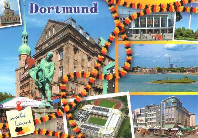 Cartes postales d'Allemagne. Je t'envoie une carte postale