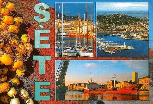 Une carte postale de Sete, France (2012-04-30)