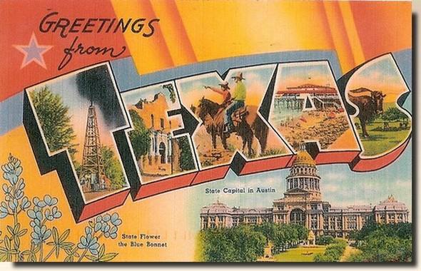 carte postale usa