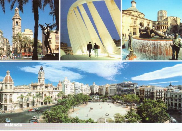 Ville D Espagne En  Lettres