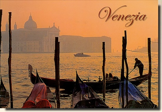 Une carte postale de Venise - Italie (2011-03-08)
