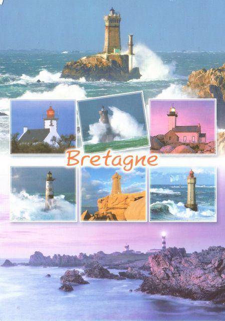 Une carte postale Bretagne, France - carte postale 1042