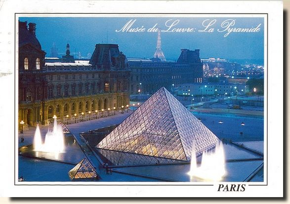 une carte postale de paris france 1996 05 18. Black Bedroom Furniture Sets. Home Design Ideas