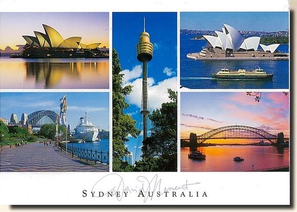 Une carte postale de Sidney - Australie (2011-03-01)