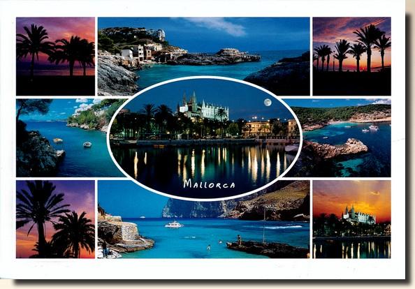 Une carte postale de Majorque - Espagne (2010-09-22)