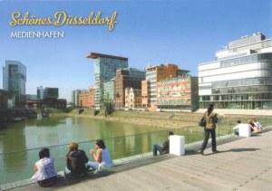 Une carte postale de Düsseldorf (Jürgen)