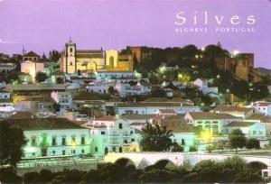 Une carte postale de Silves (Manuel)