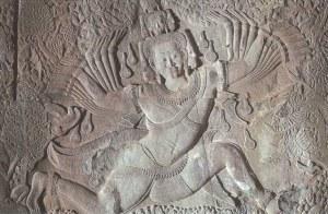 Une carte postale de Siem Reap, Cambodge