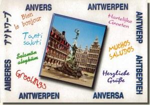 Une carte postale d'Anvers (Bianca)
