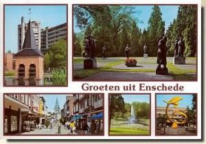 Une carte postale de Enschede (Charmaine)