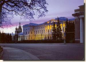 Une carte postale de Saint Pétersbourg (Olga)