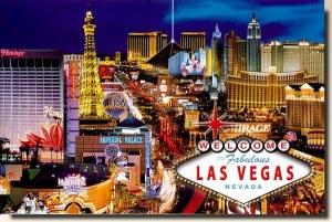 Une carte postale de Las Vegas, NV (Wendy)