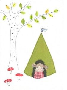 Une carte postale de Hyvinkää (Kreetta)