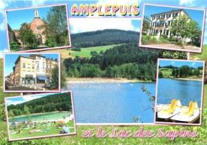 Une carte postale d'Amplepuis (Claudia)