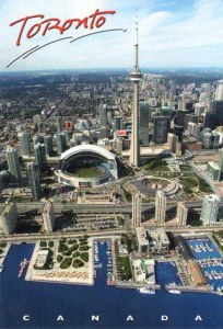 Une carte postale de Toronto (David)