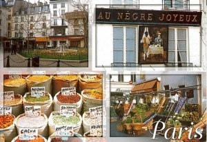Une carte postale de Paris (Anna)