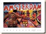 Une carte postale d'Amsterdam (Frede et Fred)