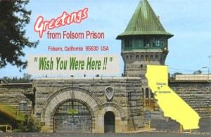 Une carte postale de Folsom, CA (Vince)