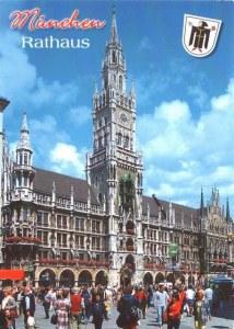 Une carte postale de Munich (Lisa)