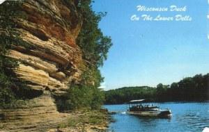 Une carte postale de Waterloo, IN