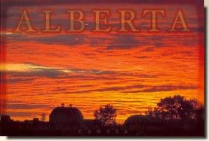 Une carte postale d'Alberta (Murray)