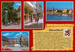 Une carte postale de Düsseldorf (Elsbeth)