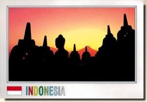 Une carte postale de Jakarta (Basora)