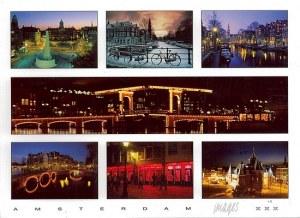 Une carte postale d'Amsterdam (Verona)
