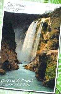 Une carte postale de Mexico (Manuel)