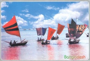 Une carte postale de Dacca (Md. IMRAN)