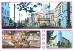 Une carte postale de Brka (Edvin)