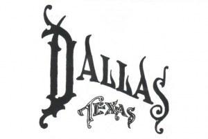Une carte postale de Dallas, TX (Ostin + Shane)