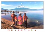 Une carte postale de Guatemala (Faustine, Ninon, Léonie, Céline et Laurent)