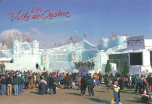 Une carte postale de Quebec (Georges + Aline)