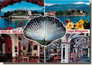 Une carte postale du Lac Majeur