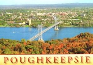 Une carte postale de Poughkeepsie (Rob)