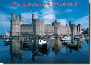 Une carte postale de Caernarfon (Mia)