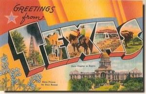 Une carte postale de Hallettsville, TX (Mike)