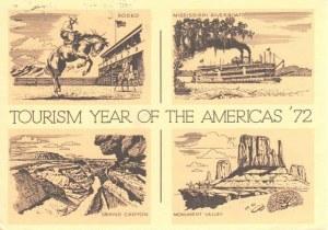 Une carte postale de Birminghams (Art)