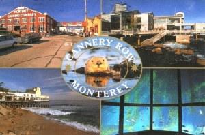 Une carte postale de Monterey, CA (Famille Coronado)