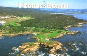 Une carte postale de Pebble Beach, CA (Francesca)