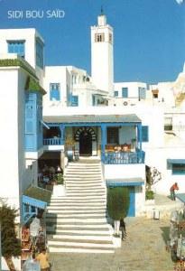 Une carte postale de Carthage (Mahdi)