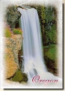 Une carte postale de Corvallis, OR (Sara)