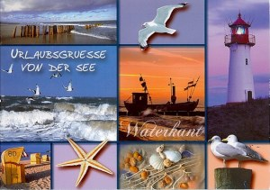 Une carte postale de Kiel (Enno)