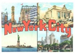 Une carte postale de New York (Mary)