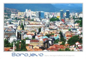 Une carte postale de Sarajevo (Edwin)