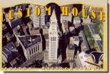 Une carte postale de Boston, MA (Lisa)