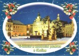 Une carte postale de České Budějovice (Jana)