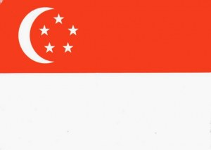 Une carte postale de Singapour (Clarence)