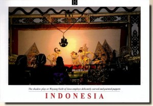 Une carte postale de Malang (Martha)